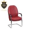 صندلی اداری گلدسیت CL2050 : صندلی گلدسیت زمان زیادی نیست که تولید می شود اما طراحی خاص و لوکس توجه افراد زیادی را جلب کرده است. گلدسیت نیز مانند دیگر برند ها ویژگی های یک صندلی استاندارد را دارد. صندلی اداری گلدسیت CL2050 | صندلی اداری | صندلی گلدسیت صندلی اداری انواعی دارد : صندلی اداری سیلا | صندلی سیلا | صندلی نیلپر | صندلی ادارینیلپر | صندلی داتیس | صندلی اداری داتیس | صندلی گلدسیت | صندلی اداری گلدسیت از آرشیو محصولات دیدن فرمایید : [av_button label='محصولات گلدسیت' icon_select='no' icon='ue800' font='entypo-fontello' link='manually,https://officechair.center/product-category/%d8%b5%d9%86%d8%af%d9%84%db%8c-%d8%a7%d8%af%d8%a7%d8%b1%db%8c-%d8%b3%db%8c-%d8%b1%d9%86/' link_target='_blank' size='medium' position='center' label_display='' title_attr='' color_options='' color='aqua' custom_bg='#444444' custom_font='#ffffff' btn_color_bg='theme-color' btn_custom_bg='#444444' btn_color_bg_hover='theme-color-highlight' btn_custom_bg_hover='#444444' btn_color_font='theme-color' btn_custom_font='#ffffff' id='' custom_class='' av_uid='' admin_preview_bg=''] صندلی کنفرانسی ویژگی های دیگر : پایه ها و دسته های این محصول به صورت ثابت است. جنس این محصول از چرم مرغوب است. این محصول دارای استاندارد درجه G یعنی 8 ساعت کار در روز می باشد. مکانیزم سینکرون با قابلیت حرکت نشیمنگاه پشتی و دسته ها به صورت هماهنگ و همزمان کاربری های گلدسیت شامل: مدیریتی کارمندی کنفرانسی می باشد. دسته ها و پایه های این محصول از فولاد آبکاری شده است. این محصولات سه سال گارانتی دارند. تمام این محصولات ده سال خدمات پس از فروش دارند. مجموعه ی سی رن از نمایندگی ها و مراکز پخش گلدسیت می باشد. این مجموعه امکان ارسال محصولات به شهرهای دیگر از طریق باربری را نیز دارد. برای دریافت اطلاعات بیشتر با شماره 02166753280 مجموعه اداری سی رن تماس بگیرید. همچنین جهت بازدید از شوروم مجموعه به آدرس زیر مراجعه فرمایید : تهران | خیابان حافظ | پایین تر از خیابان سخایی | پلاک ۱۳۱ | مبلمان اداری سی رن